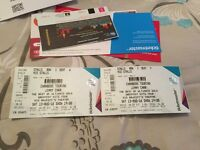 x2 Jimmy Carr Tickets
