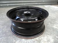 """BMW 16"""" Steel Wheel 1 Series 5x120 6.5x16 FULL SIZE SPARE for 195/55 R16 tyre not alloy E81 E87 E82"""