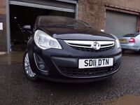 011 VAUXHALL CORSA EXCITE 1.2,MOT JAN 018,2 OWNERS,PART HISTORY,2 KEYS,STUNNING EXAMPLE,LOW MILEAGE