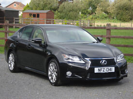 2013 LEXUS GS 250 LUXURY AUTOMATIC **ONLY 27000 MILES WITH FULL SERVICE HISTORY**