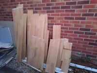 Laminated floor boards