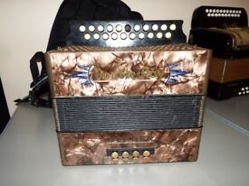 Black Dot BC Tunning accordion like new £325