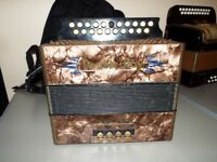 Black Dot BC Tunning accordion like new £325