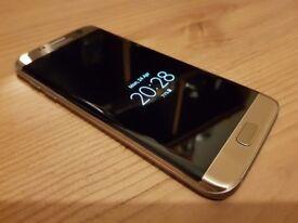 Samsung S7 Edge Gold 64GB Unlocked NEW