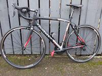 Wilier Izoard XP carbon road bike size L, full Shimano 5800 groupset
