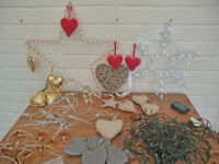 Tasteful XMAS DECORATION bundle. various Lights. Due to house move. Collection