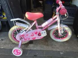 Girls princesses bike