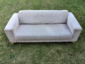 Cream Sofa, 200cm wide