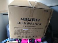 Bush Table Top Dishwasher (White) still in box.