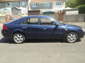 FORD MONDEO GHIA TDCI 6 SPD 2005 5 DR HATCH WITH CHERISHED NUMBER PLATE