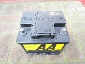 AA CAR BATTERY, 063. VGC. (( still available ))