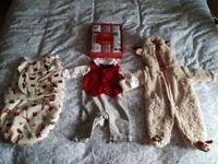 Baby boy Christmas clothing bundle