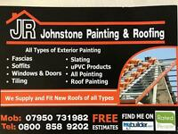 JR Johnstone painting and roofing
