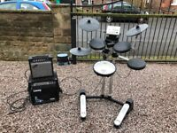 Complete Roland Drum Set plus two amplifiers