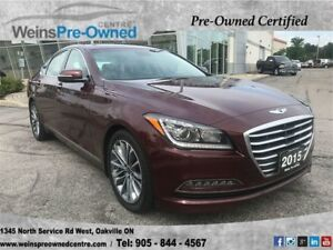 2015 Hyundai Genesis Sedan LEATHER|SUNROOF|HEATED SEATS|BLUETOOT