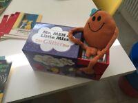 Mr Men & Little Miss - The Glitter Box -plus Mr Tickle soft toy