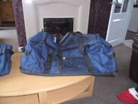 two large holdalls