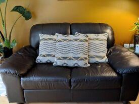 3x Large Grey and Mustard Next Cushions