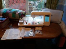 Brother Innov-is QC 1000 Sewing Machine, rarely used