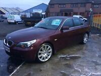 BMW 525 I se Automatic 06 Reg 45,000 miles fsh immaculate finance