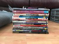 Marvel, Star wars, dc comic books