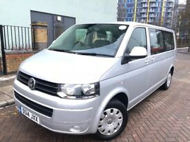 Transporter Shuttle 2014 (14reg) Automatic, Diesel, One Owner, Full Service history. PCO& MOT ready.