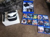 PlayStation VR Headset. Excellent condition.