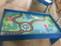 Wooden kids play table