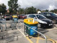 Busy Shopping Centre Car Wash Valeting Business For Sale - Trolly Hand Wash - FREE WATER & ELECTRIC