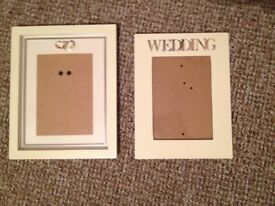 Wedding Photo Frames x 2