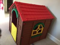 Playhouse in immaculate condition