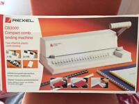 Rexel Comb Binding Machine