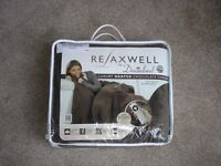 RELAXWELL by DREAMLAND Microfleece Heated Throw (unopened).