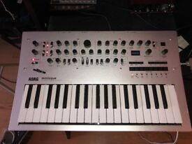Korg Minilogue Polyphonic Synthesizer New Condition, Barely Used