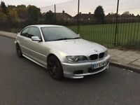Automatic BMW M-sport coupe, 318CI for sale, MOT, drives really nice.