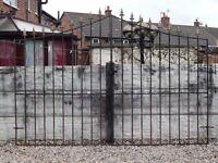 Wrought iron gates / Driveway gates / Garden gates / Metal gates / Steel gates / Tall side gates