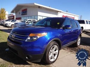 2015 Ford Explorer Limited - Remote Engine Start, 24,216 KMs
