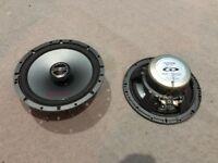 Alpine speakers Type G SPG-17C2 coaxal 2 way speaker , car audio