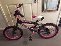Girls BMX sutiable from 7yrs+