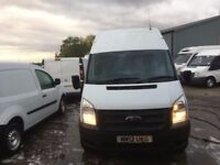 ford transit long wheel base high roof.2012.full history.1 owner.excellent runner.6 speed
