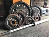 145kg Olympic Weight Set