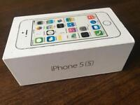 iPhone 5S,16GB, Silver.