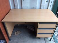 Desk with drawers £15 free local delivery