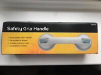 Shower bath safety grip handle