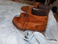 Timberland boots - brown - UK size 10 W