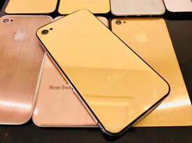 24ct Gold Edition Swarovski iPhone 4 32GB O2 Tesco Giff Gaff Pristine Condition 24K 24kt