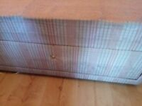 Signal divan bed for sale. No head board No mattress. 2 draws in need of handles.