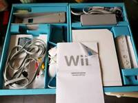 Wii console and 1 game