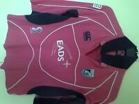 Cardiff Blues rugby top size 14