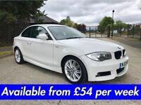 BMW 1 SERIES 118D M-SPORT (120D 320D A1 A3 Golf Leon) £54 per week